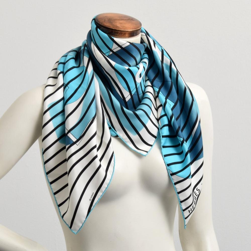Hermes H20 Silk Scarf