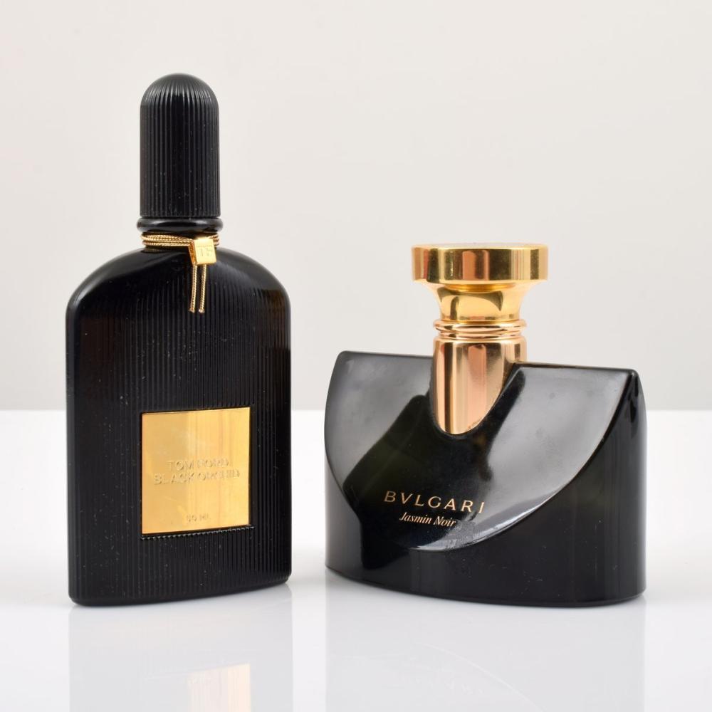 2 Perfume Bottles, Bvlgari & Tom Ford