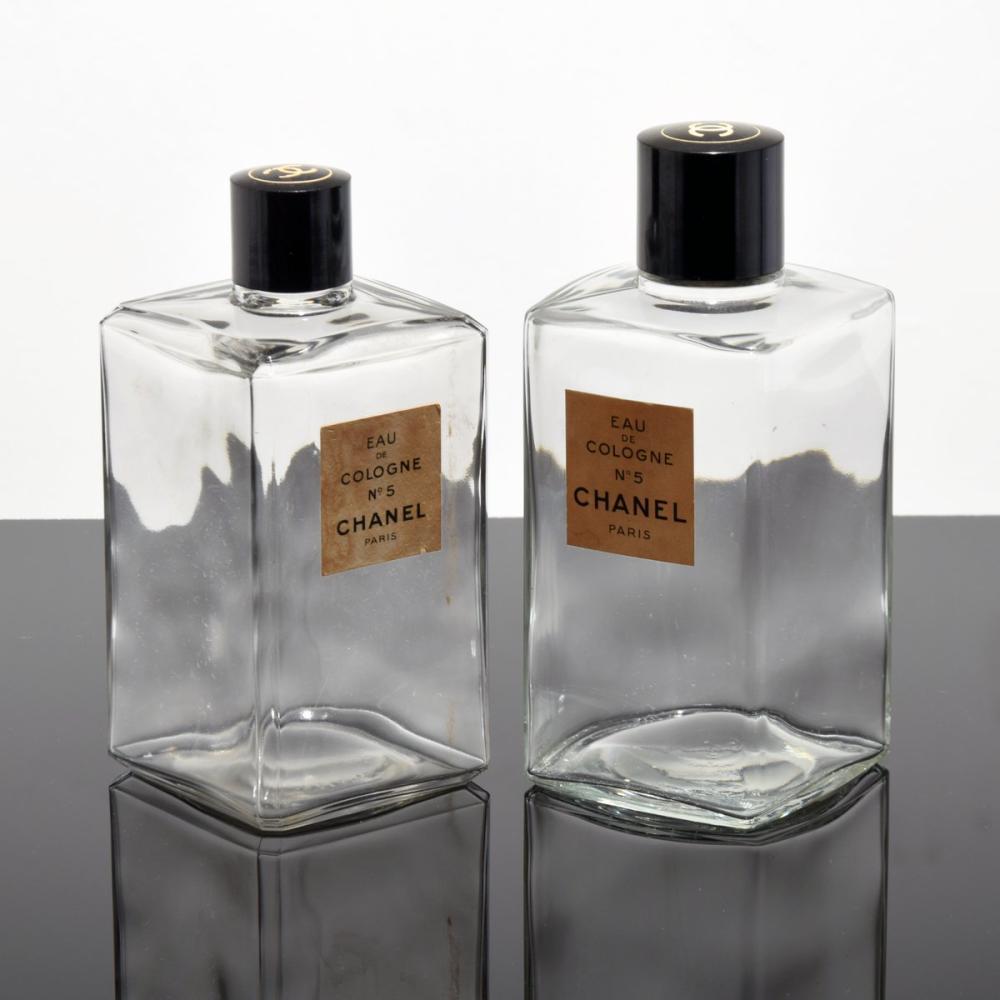 2 Large Chanel NO. 5 Perfume Bottles