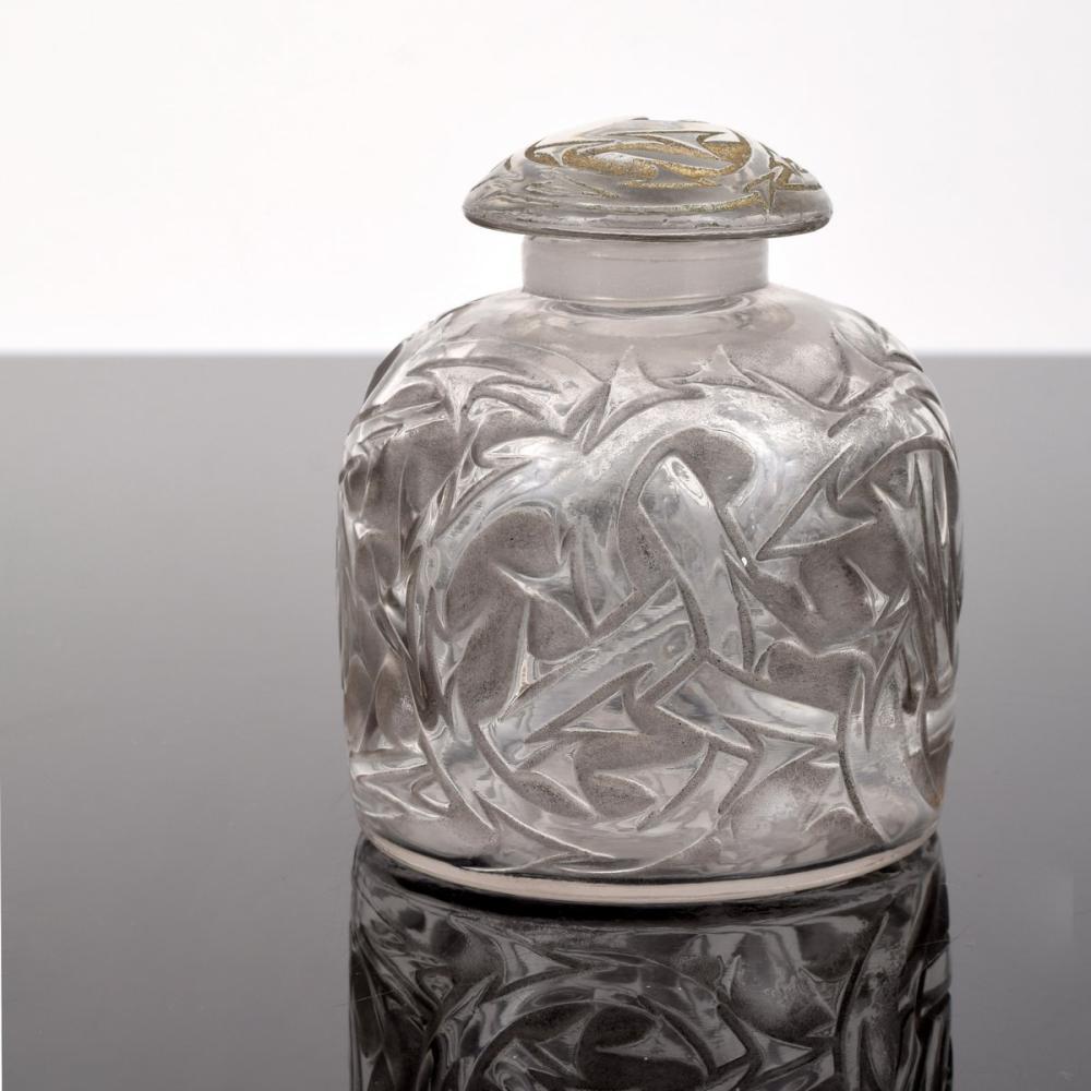 Rene Lalique EPINES Perfume Bottle