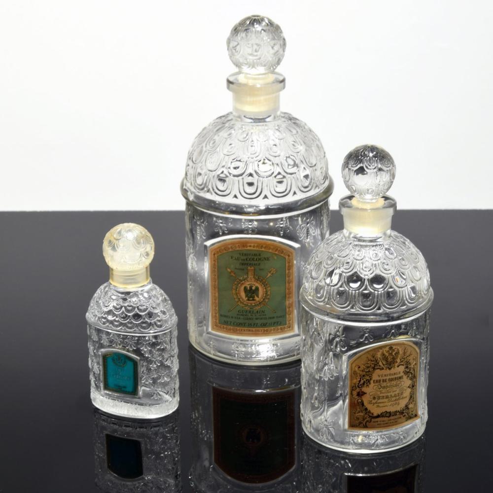 3 Guerlain Perfume Bottles