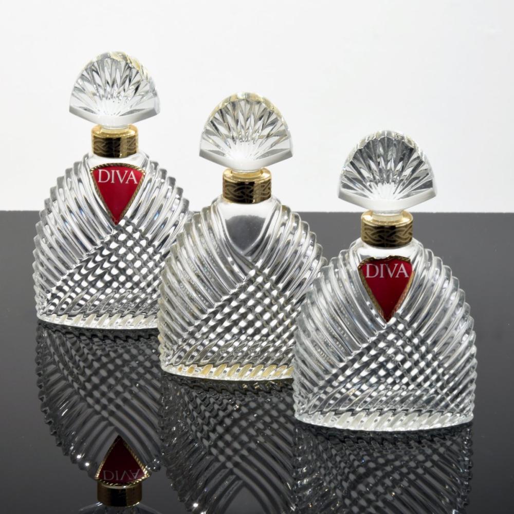 3 Ungaro DIVA Perfume Bottles