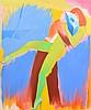 Large Allen Jones Painting, Original Work, Allen Jones, $34,000