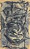 Ladislas Kijno Abstract Mixed Media, Original Work, Ladislas Kijno, $2,500