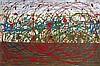 Tancredi Parmeggiani Abstract Painting, Original Work, Tancredi Parmeggiani, $3,500