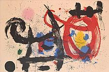 Joan Miro Lithograph, Signed Edition