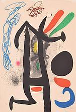 Joan Miro Aquatint LA PRESIDENTE, Signed Edition