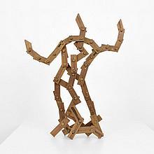 Large Larry Mohr Bronze Sculpture