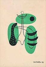 Mario Carreno Watercolor/Ink Work, Original Work