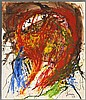Asger Jorn Painting, Original Work, Asger Jorn, $2,500