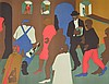 Jacob Lawrence Lithograph, Signed Artist Proof, Jacob Armstead Lawrence, $1,200