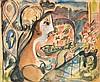 Mariano Rodriguez Mixed Media Painting, Original Work,  Mariano (1912), $7,000