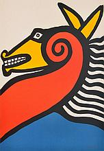 Alexander Calder HORSE Lithograph, Signed Edition