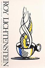 Roy Lichtenstein BRONZE SCULPTURE Exhibition Poster