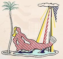 Roy Lichtenstein MERMAID Lithograph, Signed Edition