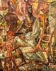 Abraham Rattner Painting, Original Work, Abraham Rattner, $600