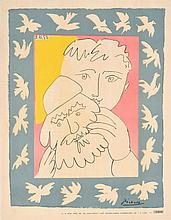 Pablo Picasso L'ANNEE NOUVELLE Lithograph