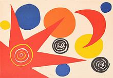 Alexander Calder Lithograph, Signed Edition