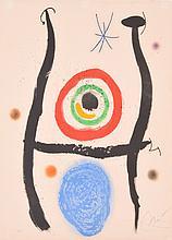 Joan Miro Aquatint LE BLEU DE LA CIBLE, Signed Edition