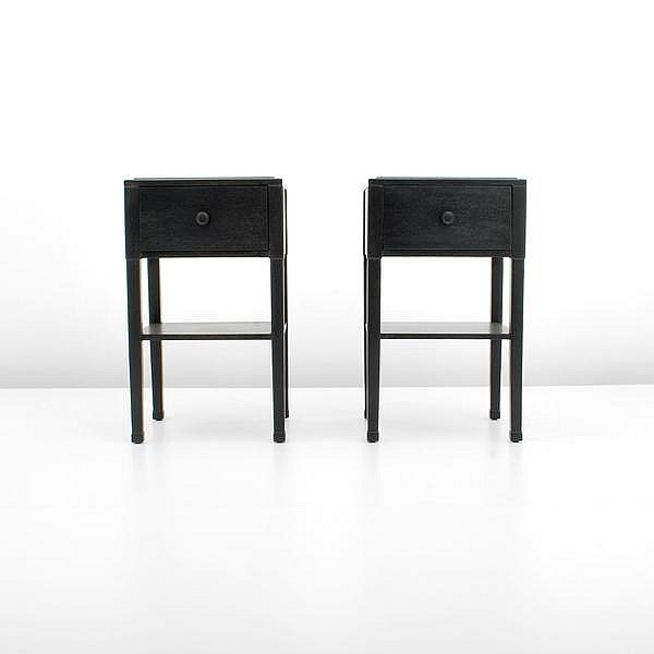 Pair of Widdicomb Nightstands, T.H. Robsjohn-Gibbings
