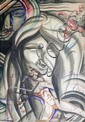 Original Art Deco Painting by  Louis (Pierre) Rigal