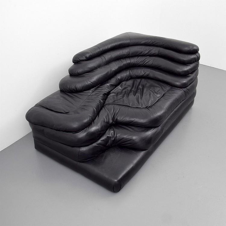 Pair Of Ubald Klug Terrazza Furniture System Sofas