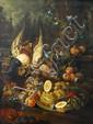 After Luca Forte, Still Life of Fruit & Game
