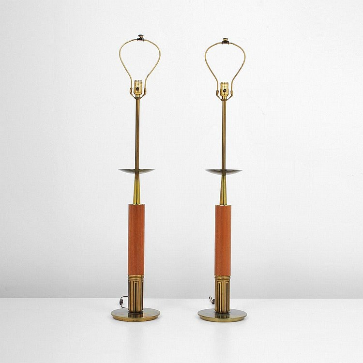 Pair of Stiffel Lamps, Tommi Parzinger