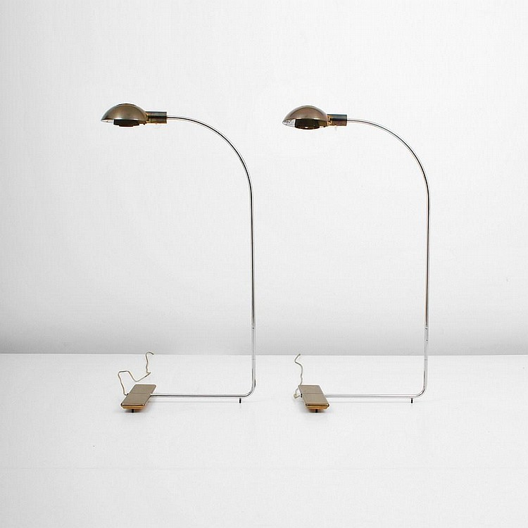 Pair of Cedric Hartman Floor Lamps
