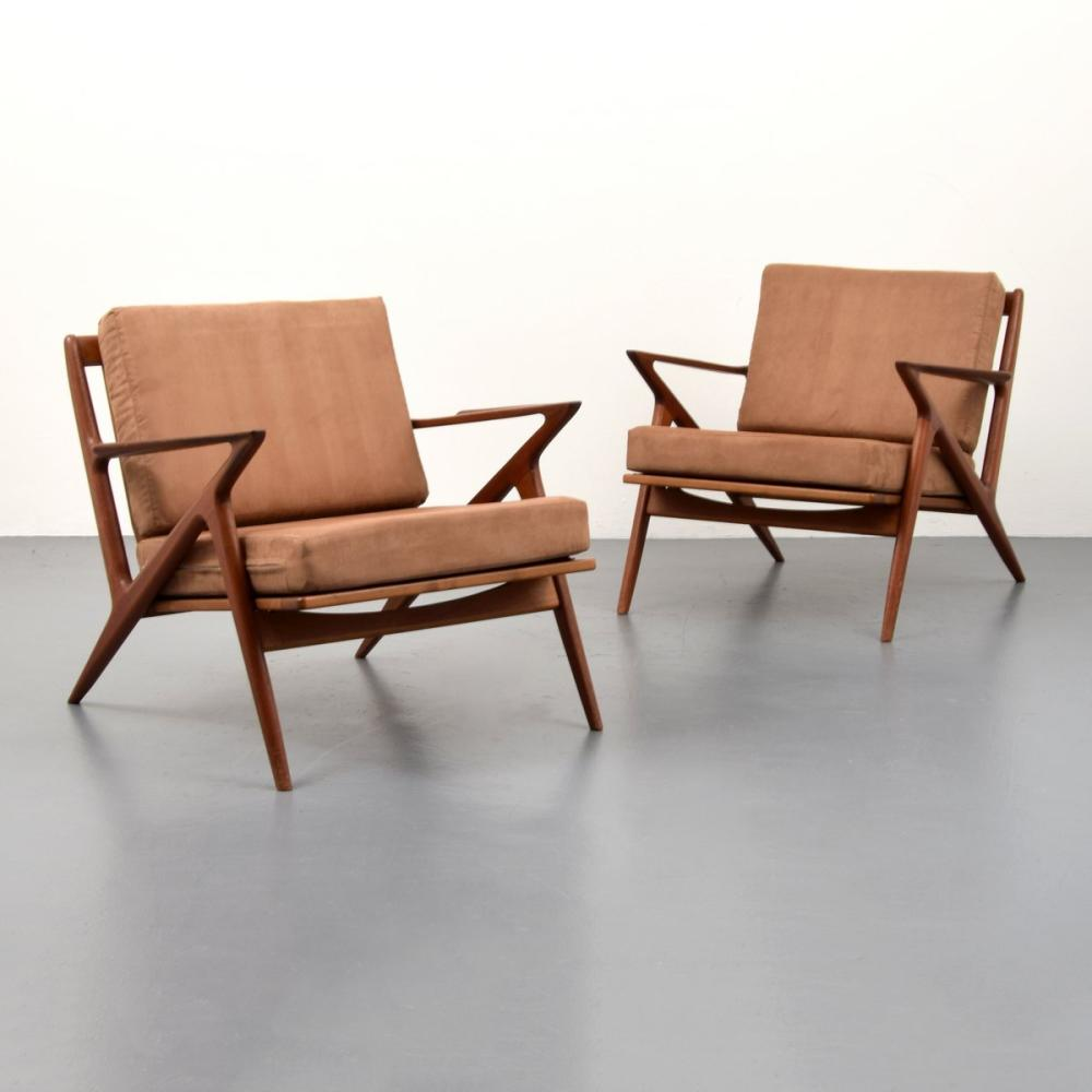 Pair of Poul Jensen Z Chairs