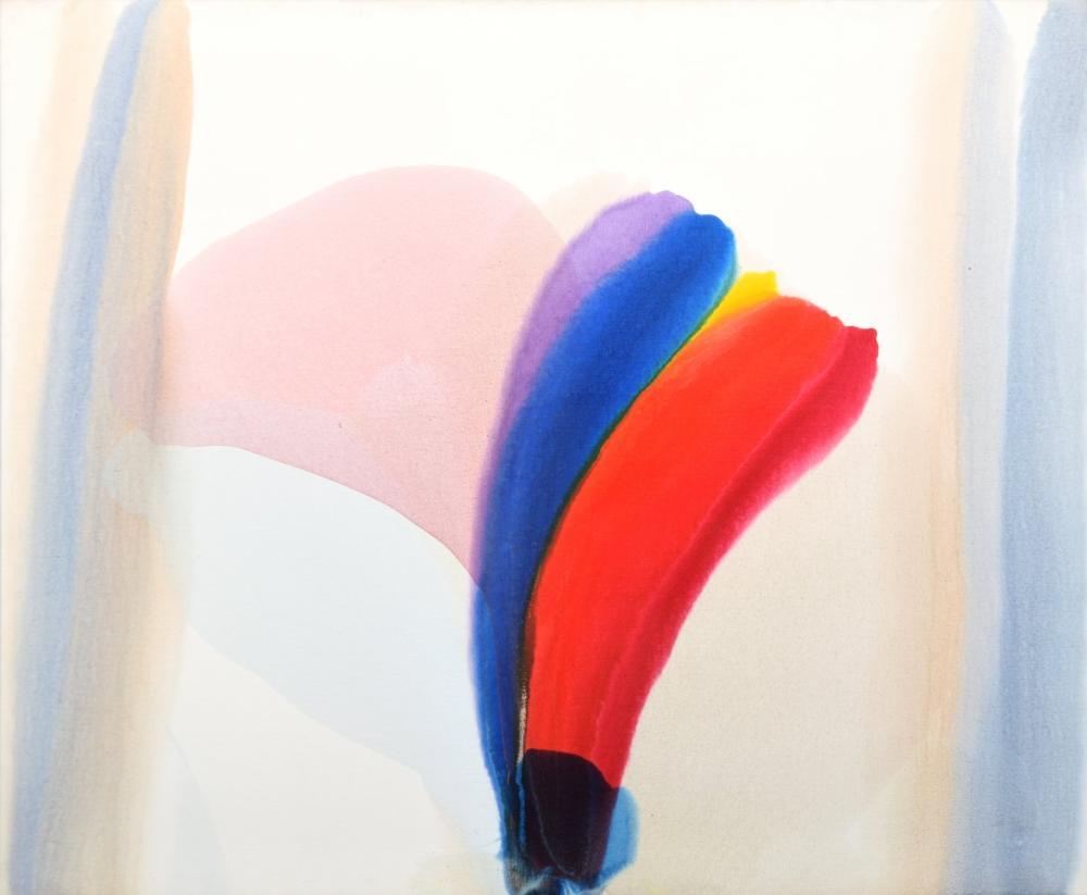 "Large Paul Jenkins PHENOMENA Painting, 60""W"