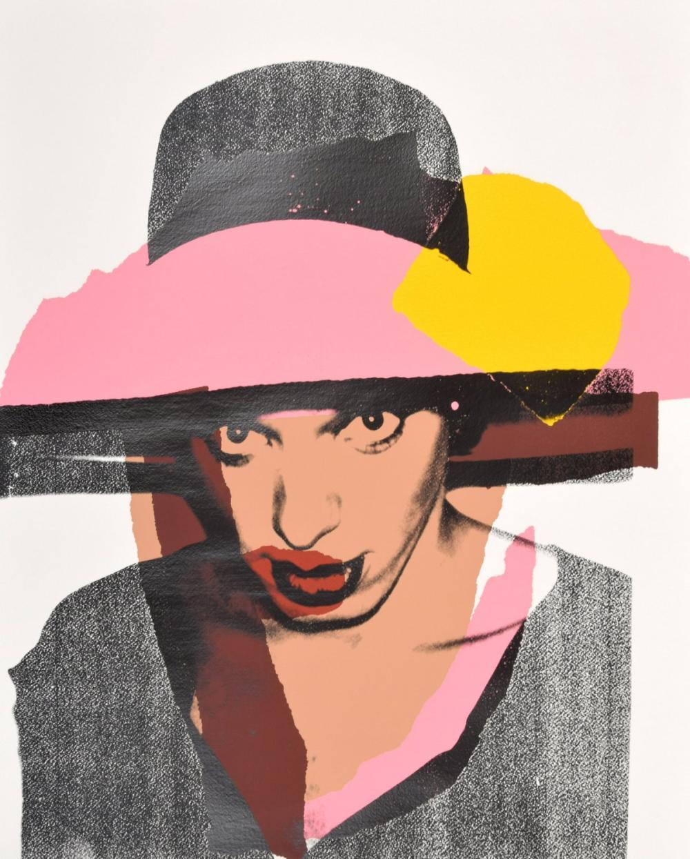 Andy Warhol LADIES & GENTLEMEN Screenprint, Signed Edition