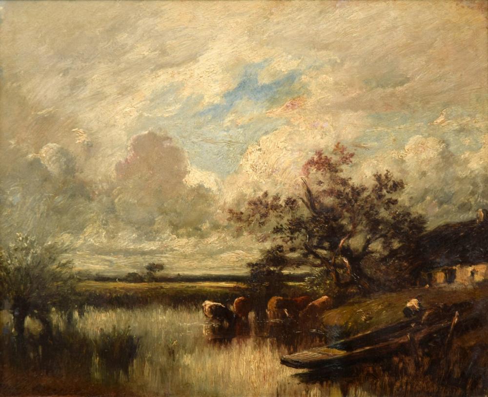 Jules DuPre Painting