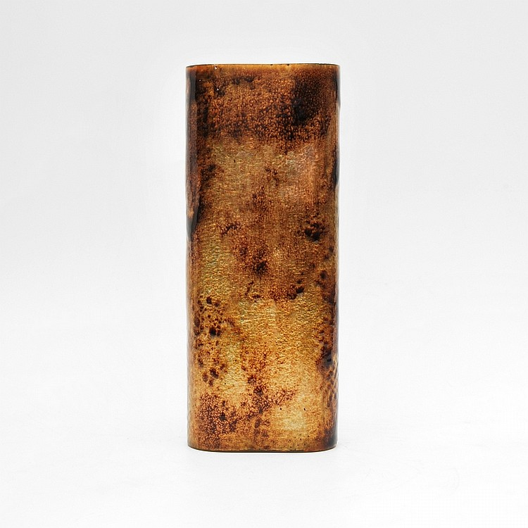 Anne-Grete Ploen Enameled Vase