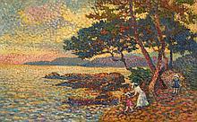 Lucien Neuquelman Painting, Original Work