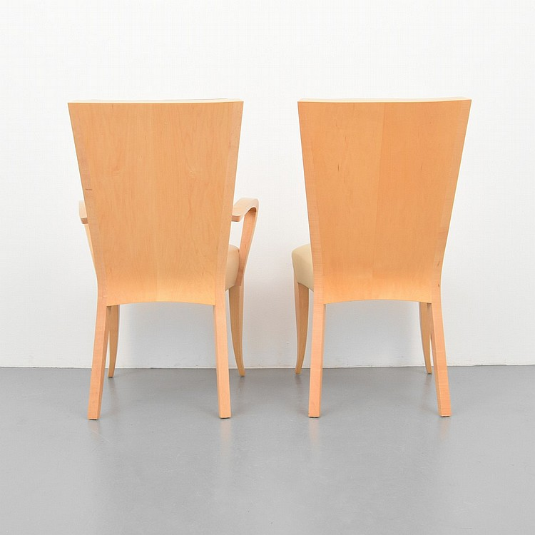 Dakota Jackson Dining Chairs Set Of 8