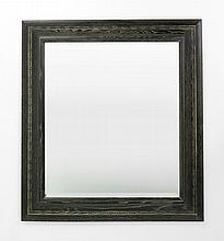 Cerused Oak Mirror in the Manner of James Mont