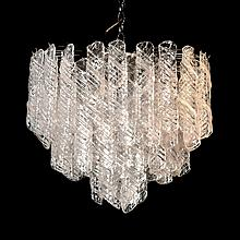 Italian Chandelier in the Manner of Venini