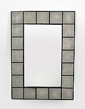 Large Shagreen Mirror, Manner of Karl Springer