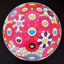 START SESSION 1: Takashi Murakami FLOWERBALL 3D Lithograph