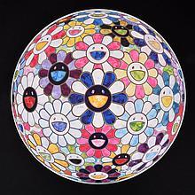 Takashi Murakami FLOWERBALL 3D Lithograph