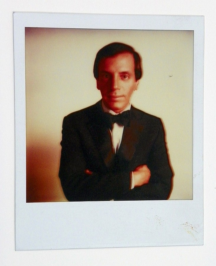 Andy Warhol Polaroid; Signed Interview Magazine +