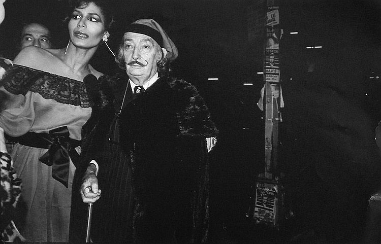 Salvador Dali, Apollonia, Studio 54 Photo