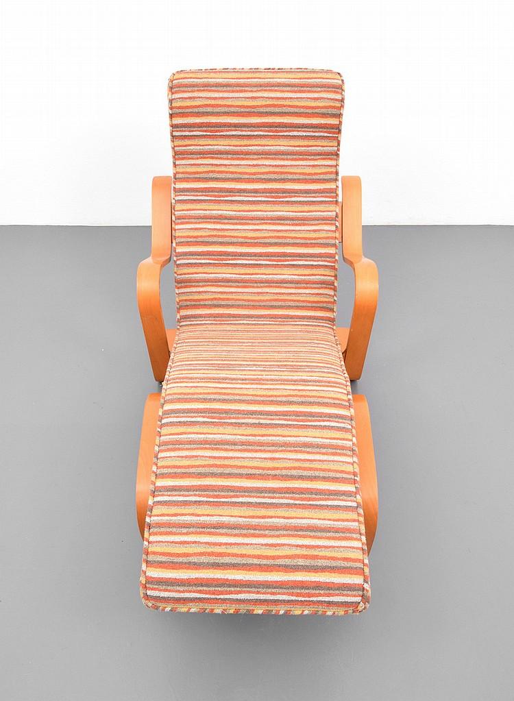 marcel breuer long chaise lounge chair. Black Bedroom Furniture Sets. Home Design Ideas