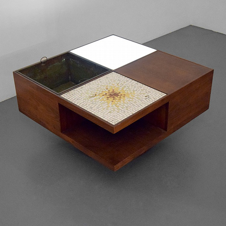 Vladimir Kagan Lighted Coffee Table Model 440