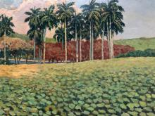 Esteban Valderrama, Landscape, 1961