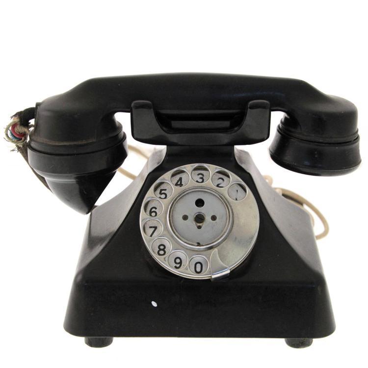 GEC Old Bakelite Telephone.