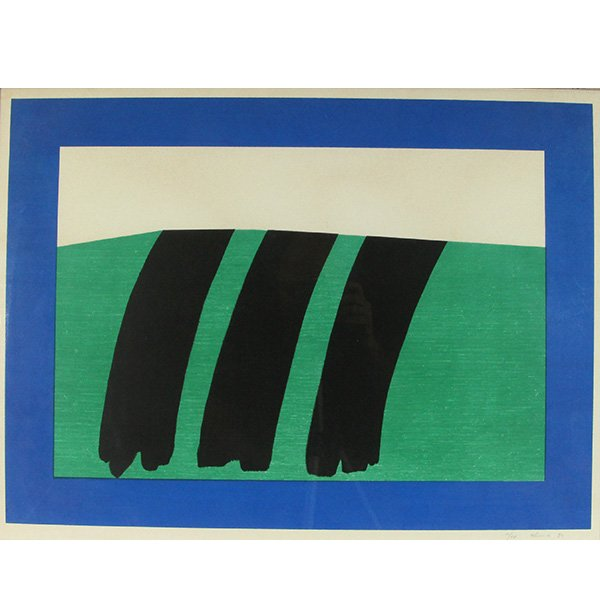 Rita Alima Lithograph, Hand Signed Limited Edition 1980