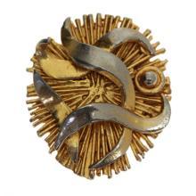 Zahara Schatz - Gold Plated Brooch / Pendant.