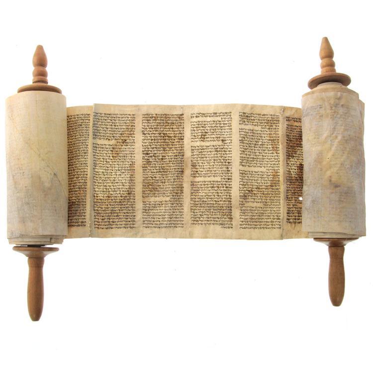 what is a torah scroll